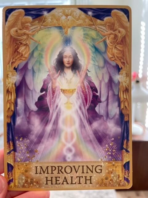 Angels Answers Improving Health. Yes No Tarot Reading.